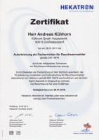 Hekatron Zertifikat