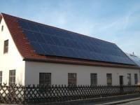 PV-Anlage mit Evergreen Modulen