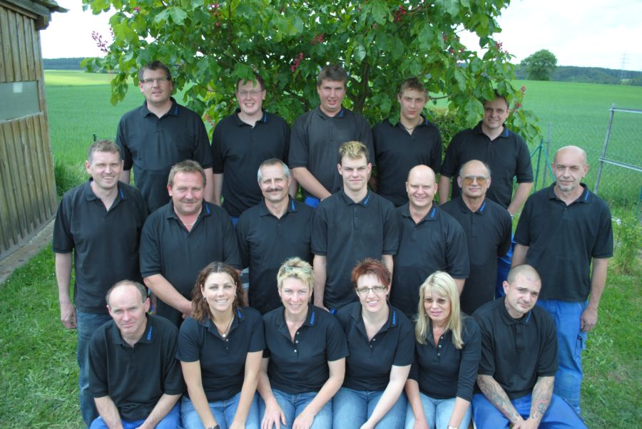 Das Team der Fa. Kühhorn